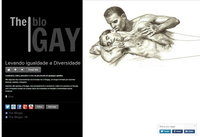 The iBlogay - About.me