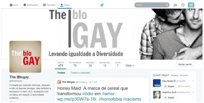 The iBlogay no Twitter